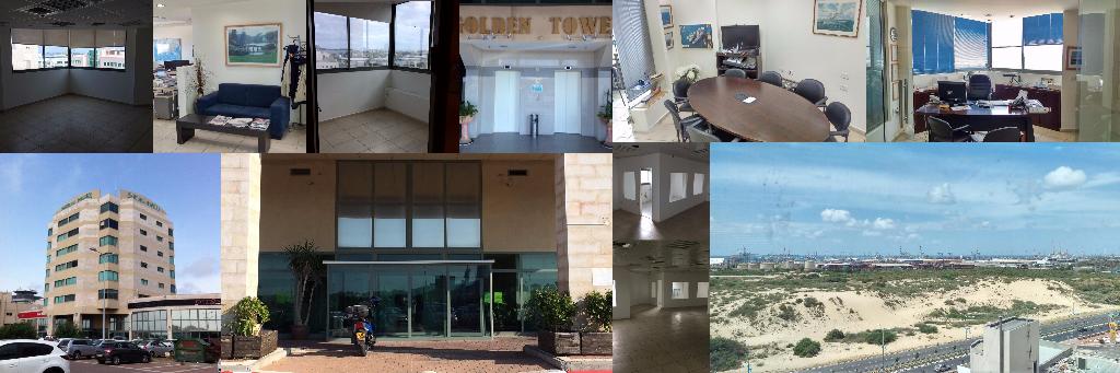 להשכרה מגוון משרדים מפוארים וממוזגים במיקום מעולה באשדוד