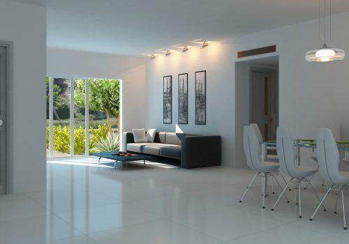דירת גן 4 חדרים חדשה מקבלן