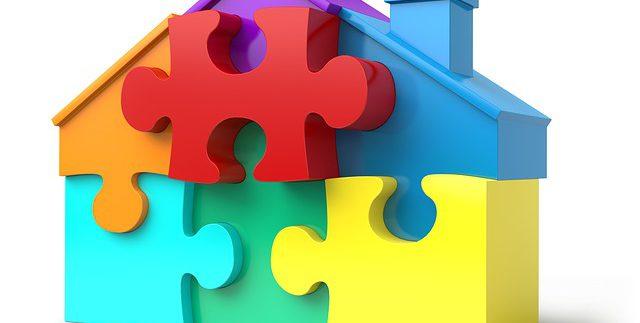 להרכיב פאזל , דירה למגורים או השקעה